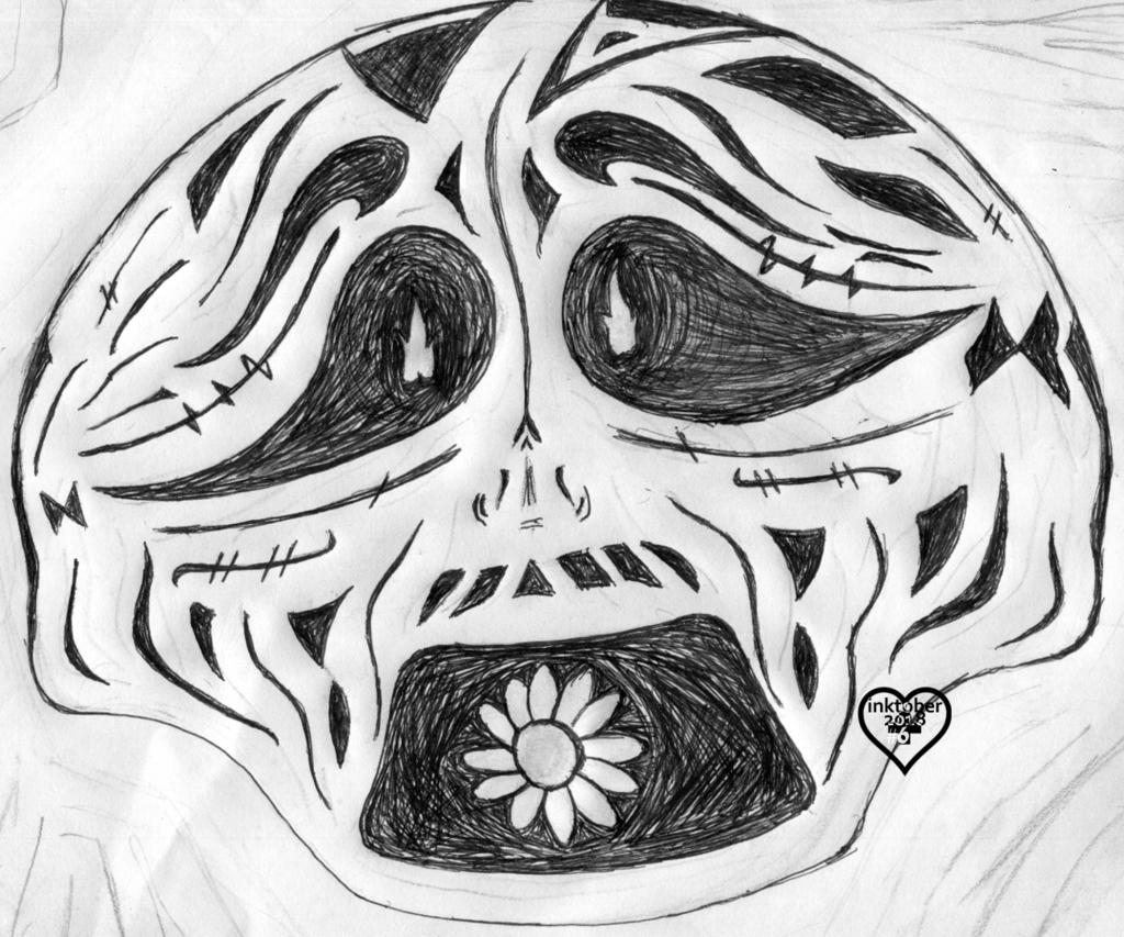 inktober #6: schrei