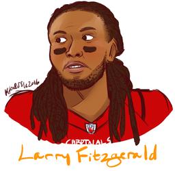 NFL Football - Arizona Cardinals - Larry Fitzgerald Bust