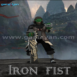 3D Ironfist Warrior Creature Character