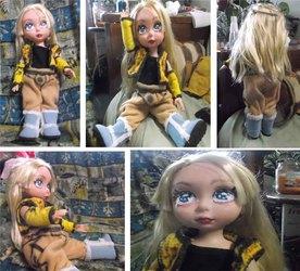 OoAK Celes Chere Disney Animator doll