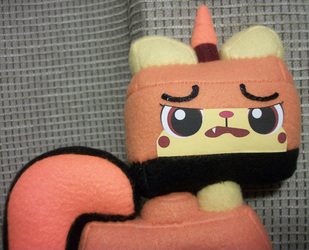 Orange Unikitty