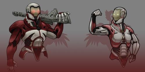 Titanfall Armor Design [C]