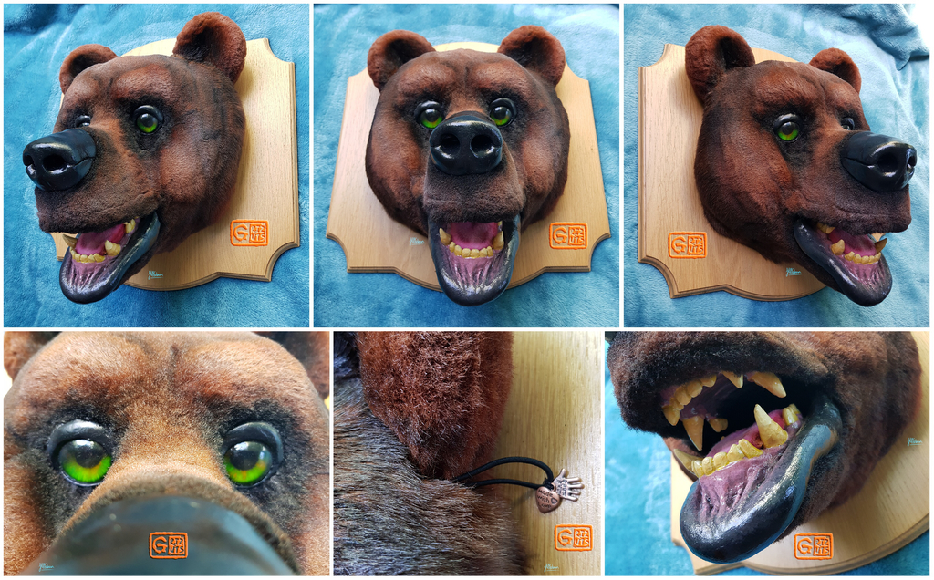 Grizzly Bear Fursuit Taxidermy