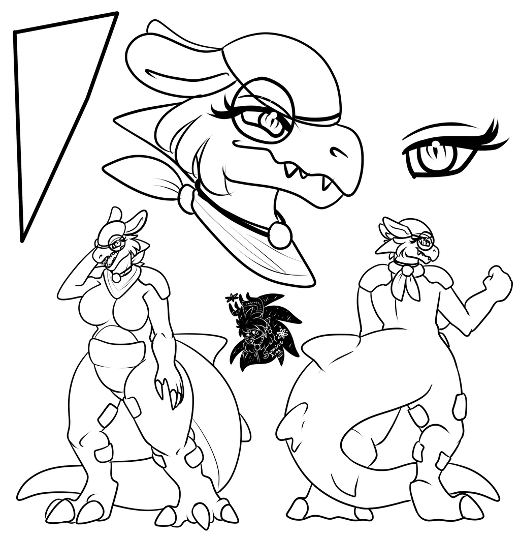 Shiny Kangaskhan +Ref Commission WIP+