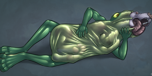 Paint Me Like One of Your French Hexagexes [Vore]