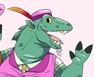 S. Winston the Dragonborn