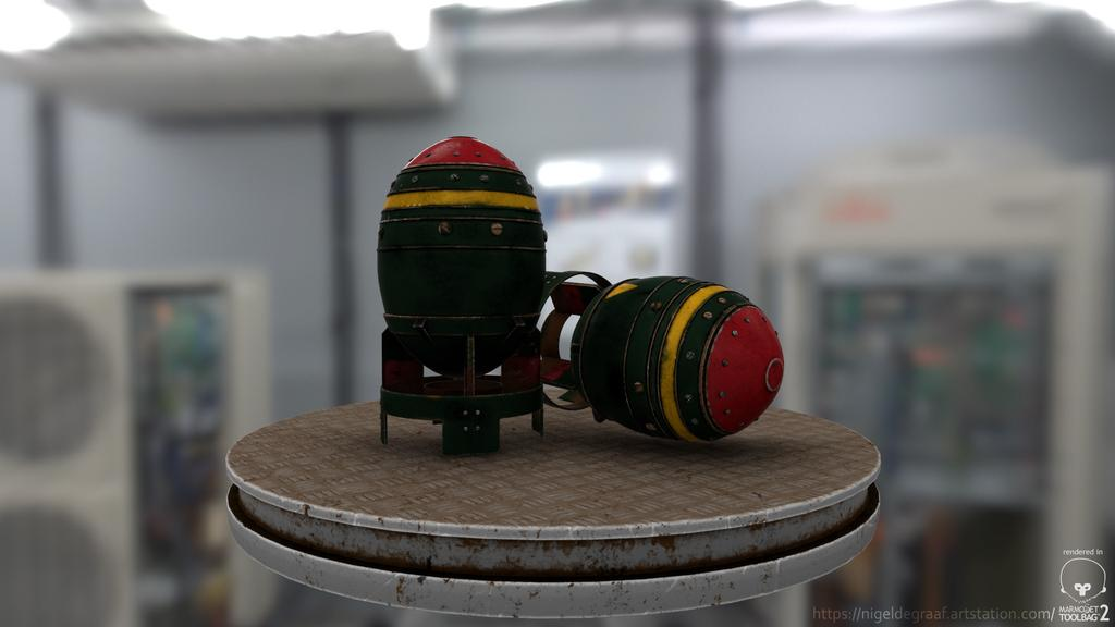 Fallout mini nukes
