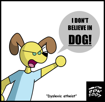 Dyslexic Aethist