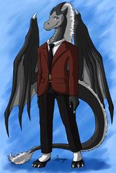Mo in a Suit - Gift Art