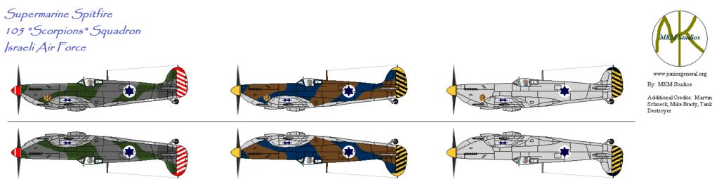 105 Squadron Spitfires