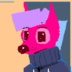 Pixel Art : Colorful Thing