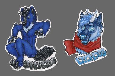 Sandalius & Lichdog badges