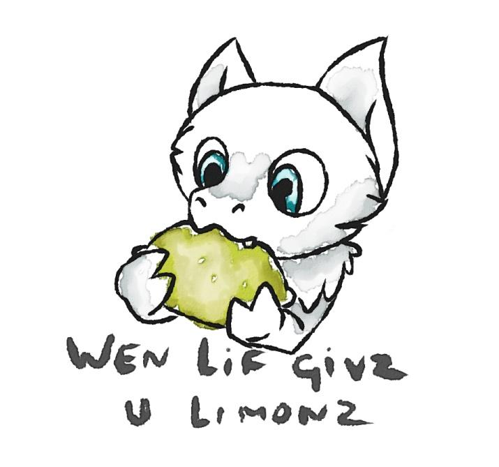 Wen lif givz u limonz