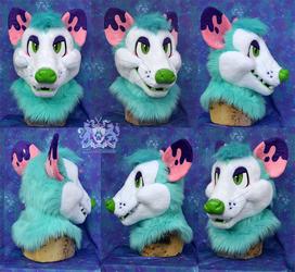 Jacques Opossum Head (Partial for Sale)