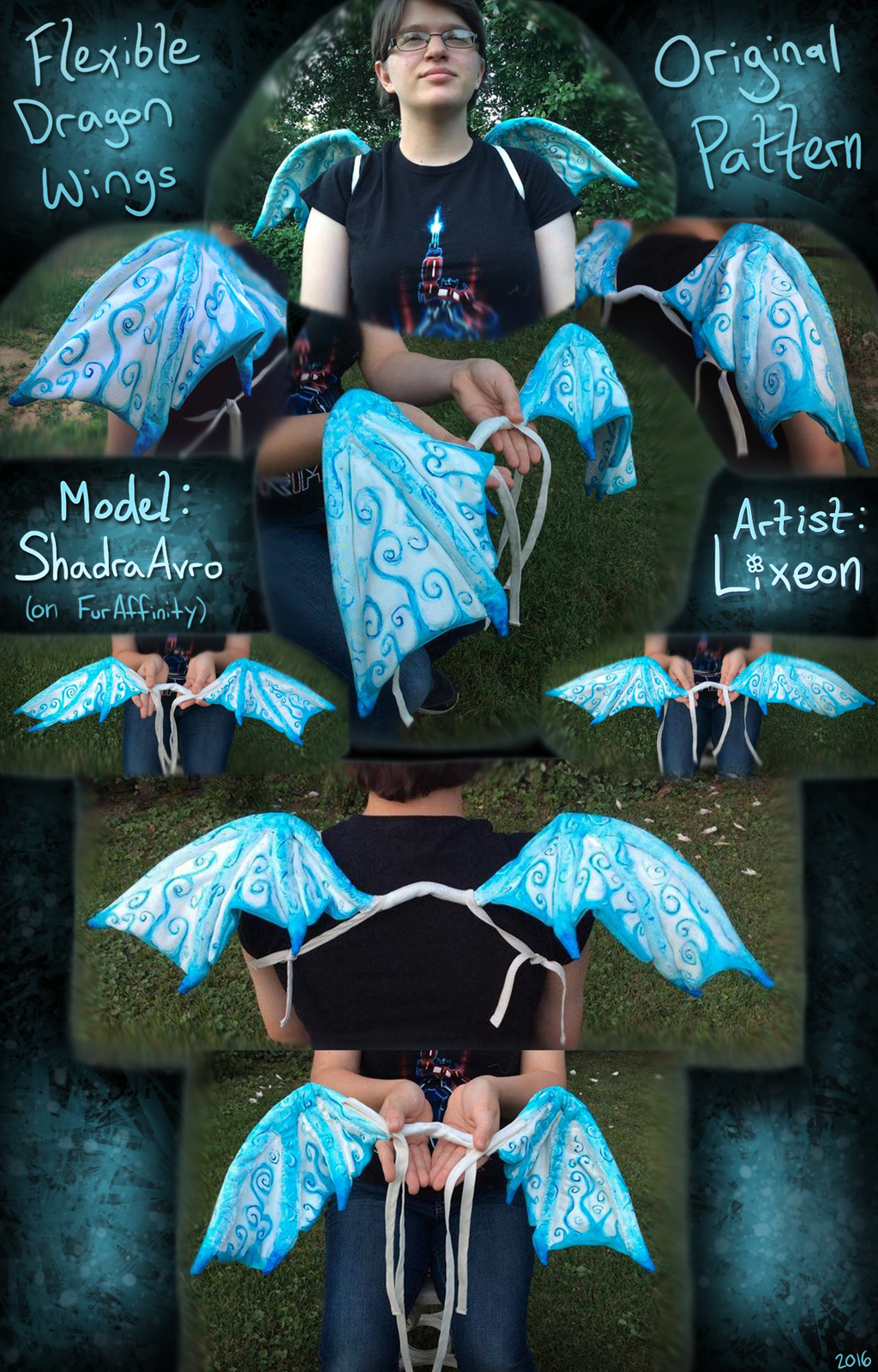 Wearable Dragon Wings! [C]