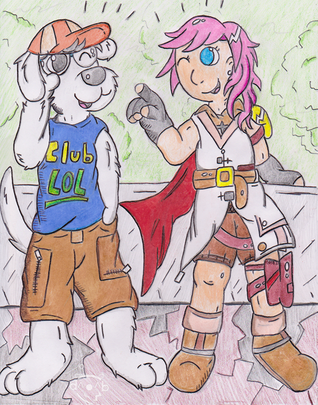 Lightning and DJ K.K.