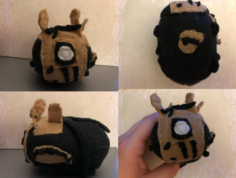 Bendy and the Ink Machine The Projectionist Stacking Tsum Plush gift for galaxyfoxy