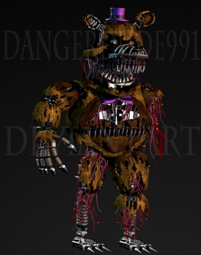 Withered Fredbear