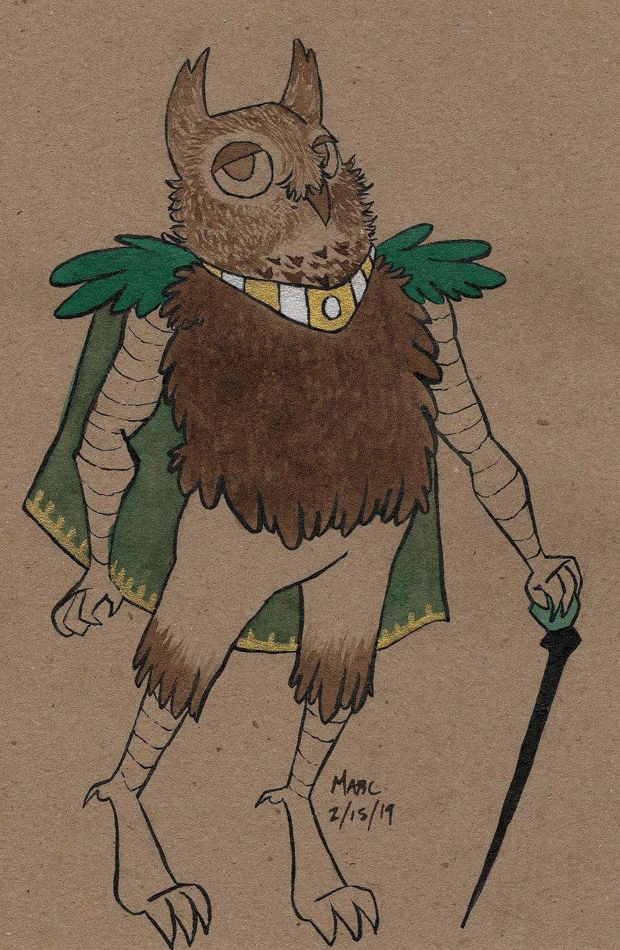 Owl Noble