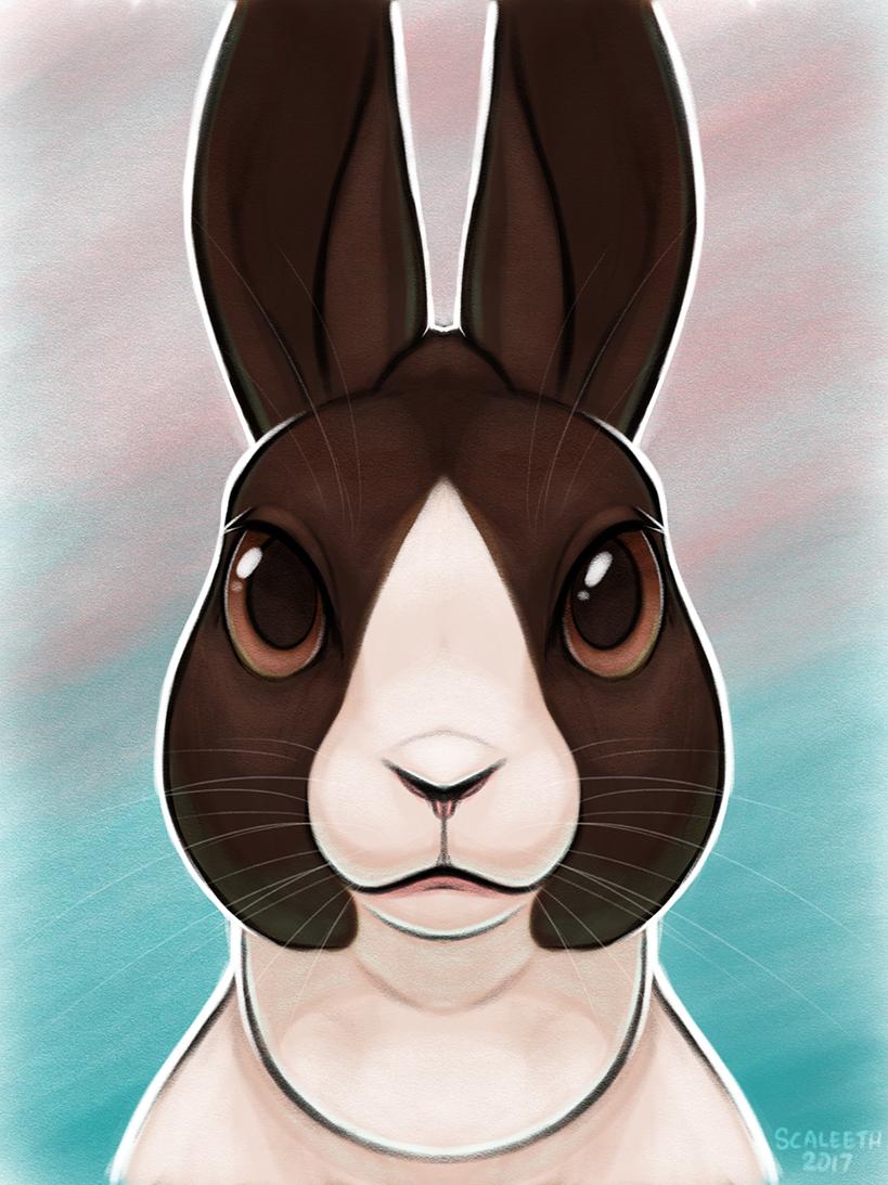 [iPad] Bun Portrait