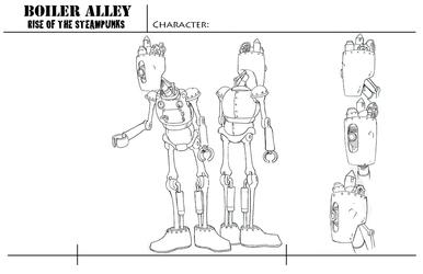Character Sheet,- Robot