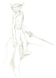 Zas with Sword