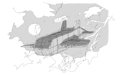 Freighter jet