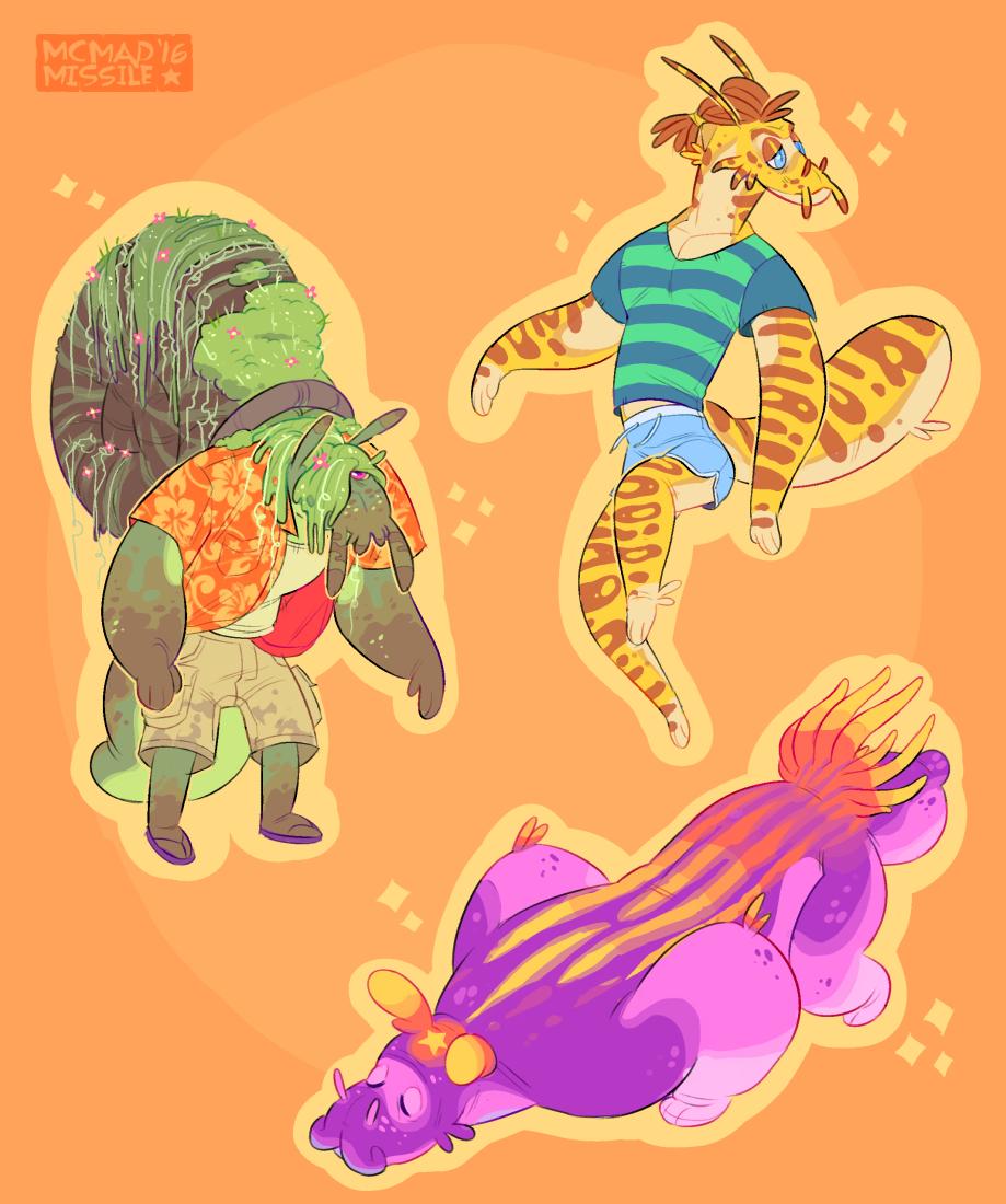 Mollusk adopts! [3/3 taken]