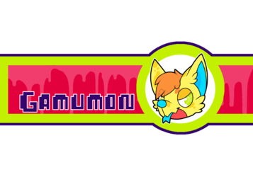 Gamumon Bottle Sticker