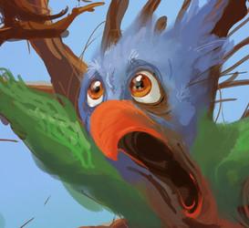Bird with Bark - TF INANIMATE Comm