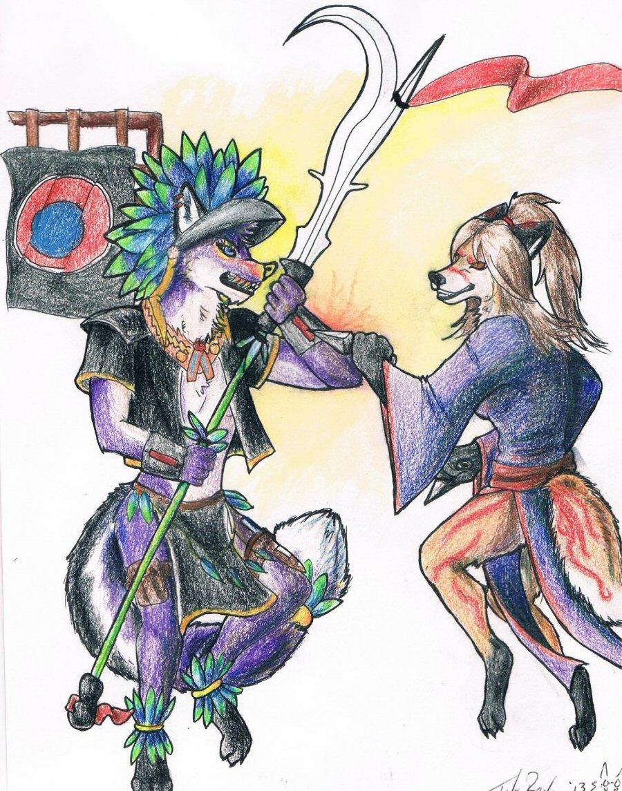 Phantom & Akiko (by Bloodwriter)