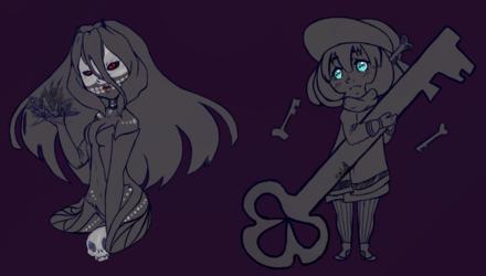 Demon summoner + Keeper of Keys