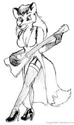 (2001) Cassie the Rock Vixen
