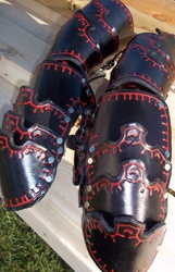 Stamped Clamshell Gauntlets