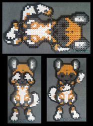 African Wild Dog Ragdoll (Original Design)