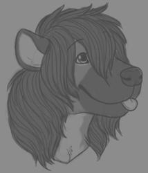 Fluffy Horseyena