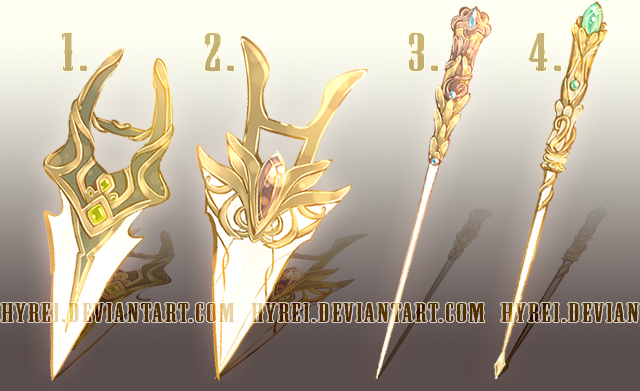 Auction : Weapon Adopt Set 22 [CLOSED]