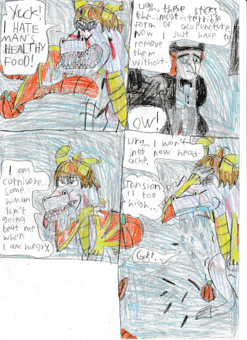 Legend of dragon: Bird and dragon:Pg 52