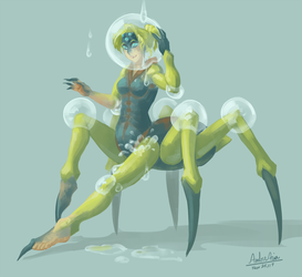 Drip, Drip, Spider Legs