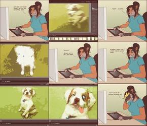 Pet Photography - Comic