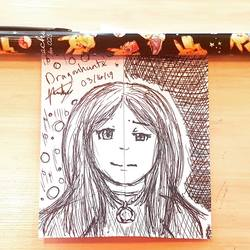 Work Doodles - Split Feelings