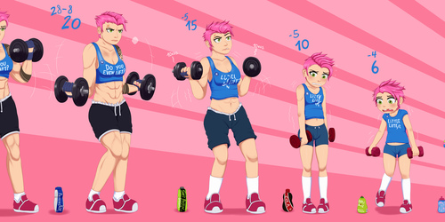 Zarya's Wimpy Workout