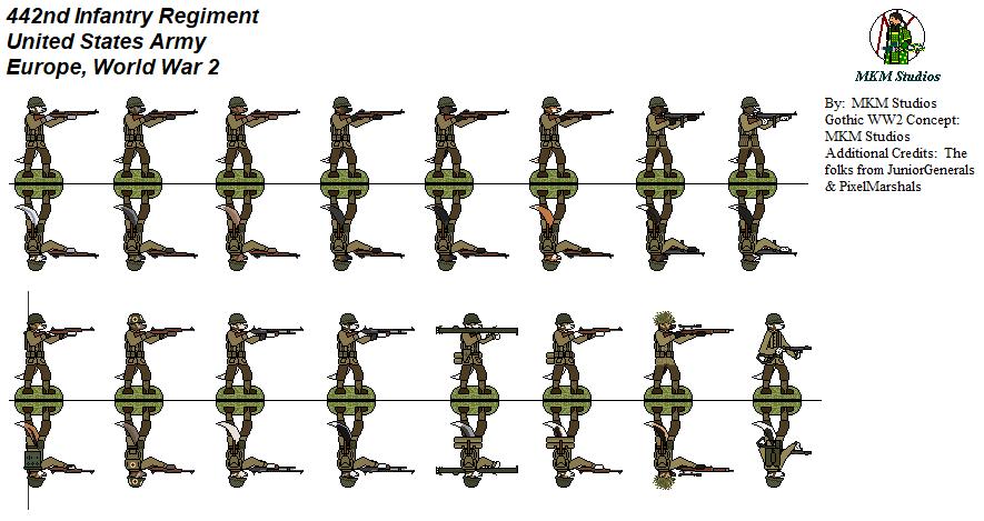 442nd Infantry Regiment Kitsunes