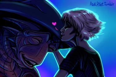 Ask Pilot - kisses