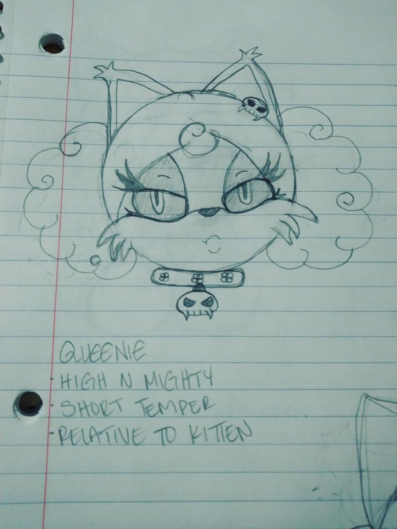 Most recent image: Bossy Bitch Queenie