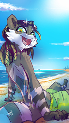 Raku at the beach