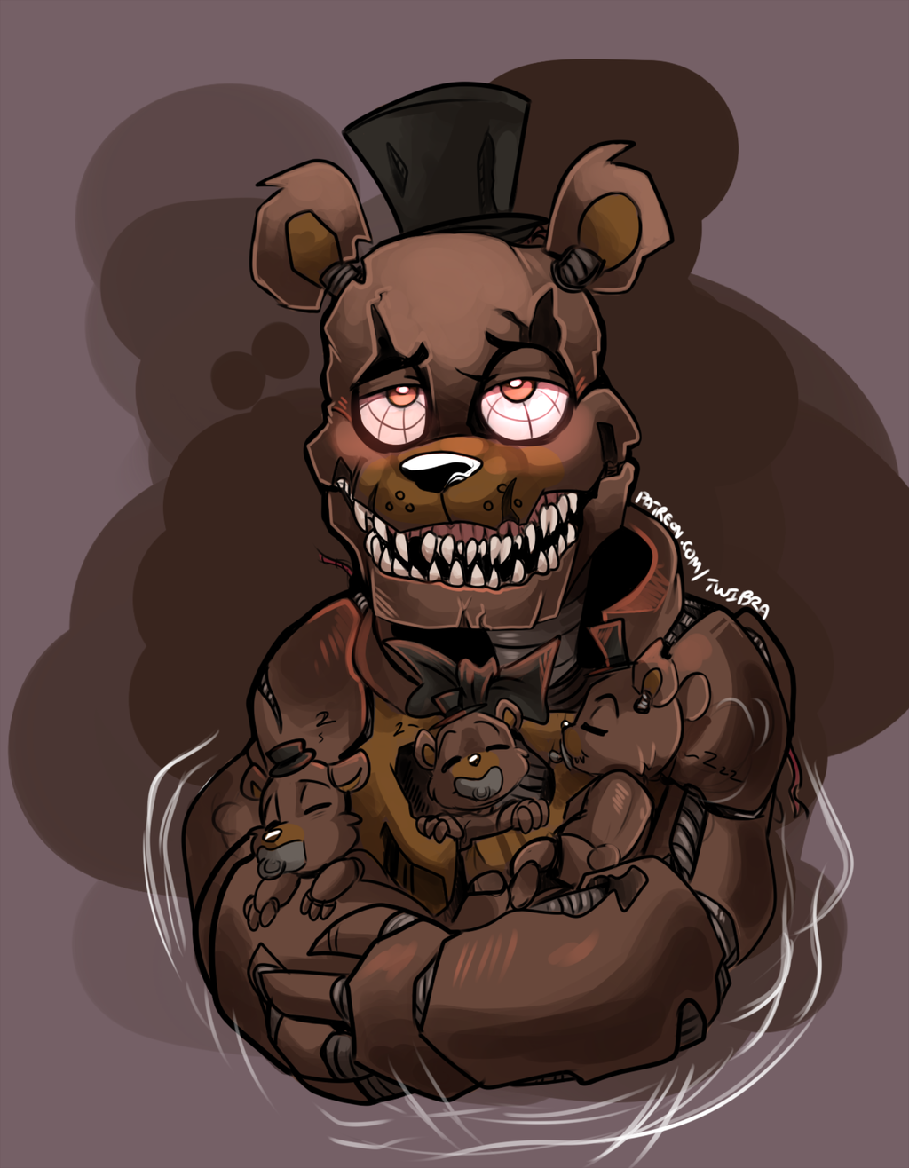 FNAF - Single Dads: Nightmare Freddy