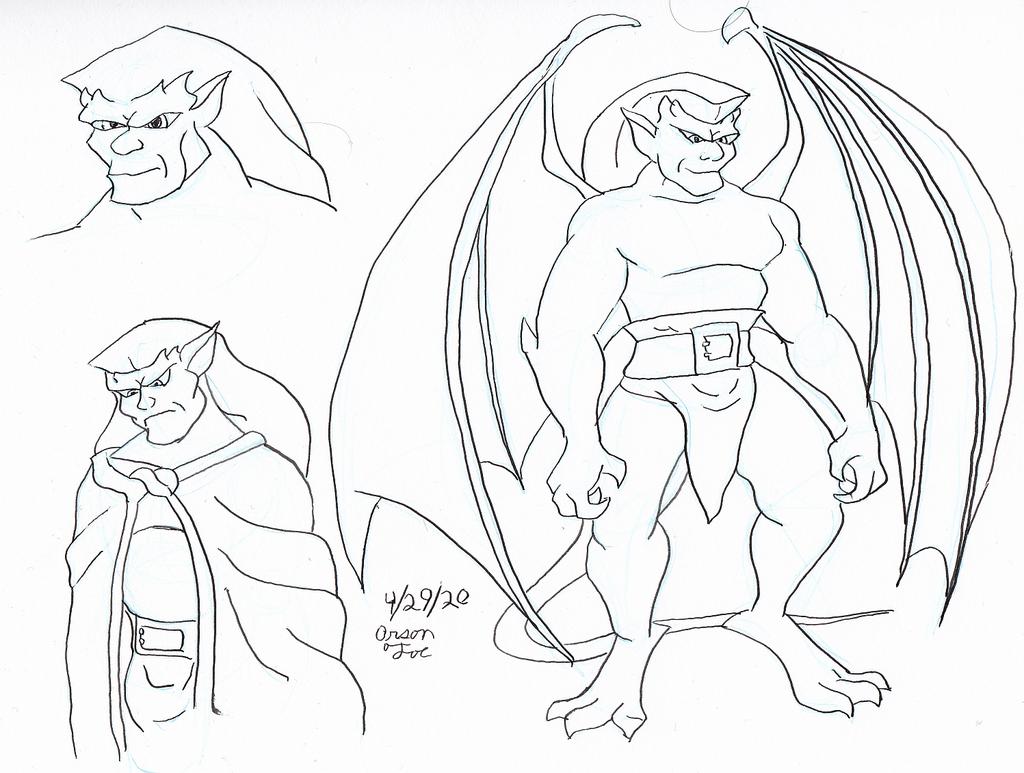 golaith Gpen sketches