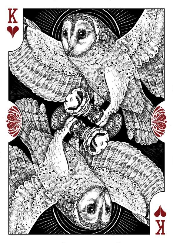 Strigiformes: King of Hearts