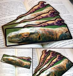 Komodo Dragon Companion Bookmark